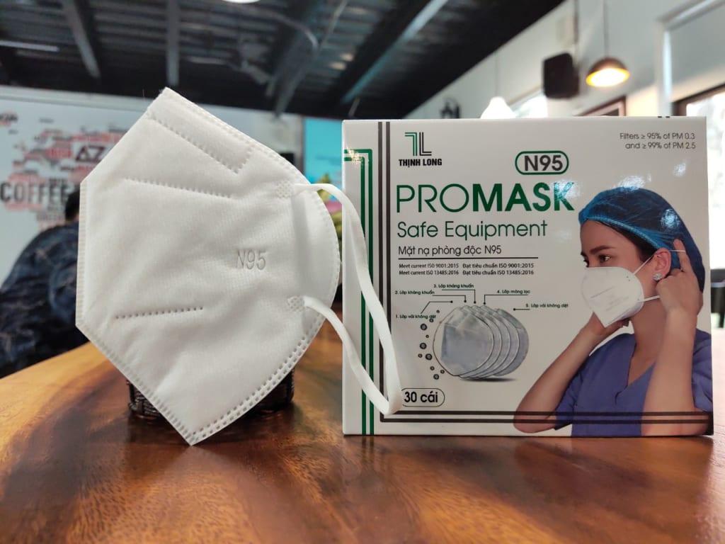 Khẩu trang N95 Promask Thịnh Long - lựa chọn của các bác sĩ tuyến đầu chống dịch
