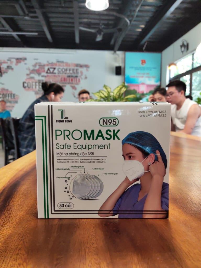 Khẩu trang N95 Promask – Khẩu trang cho bác sĩ tuyến đầu sử dụng